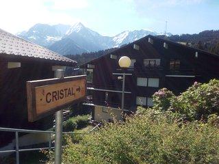 studio tout équipé rdc dans chalet résidence privée au pied du mont blanc, Saint-Gervais-les-Bains