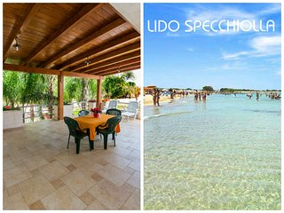 Paradiso - Holiday apartment in Puglia- terrace sea view, Specchiolla
