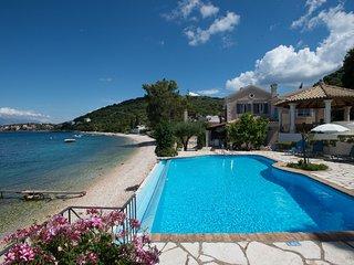 Beach front Villa Imerolia Kassiopi