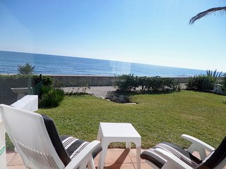 Sea front, first line beach Villa