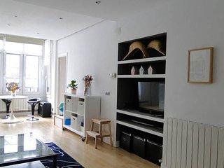 Bright and cozy flat in Ondarroa, beach, Bilbao & San Sebastian near.