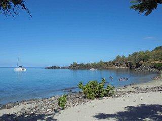 Gîte Balaou, 4 pers, 80m plage petite Anse