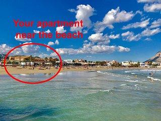 Your apartment near the beach