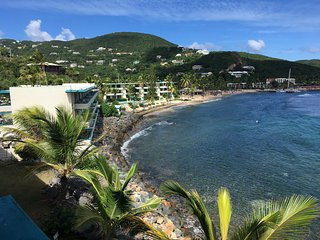 New Listing  Fantastic Affordble Oceanfront Studio. Hear the Waves All Day Long, Charlotte Amalie