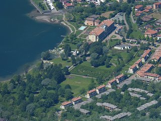 Villa Primula with direct access to Lake Lugano 8-12 people