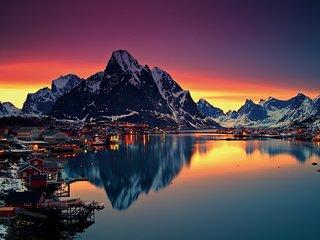 Huset på Reine i vakre Lofoten