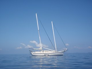 Beautiful Sailing Boat, Life Time Experience on The Beach, Pearl Islands Panama, Isla Saboga