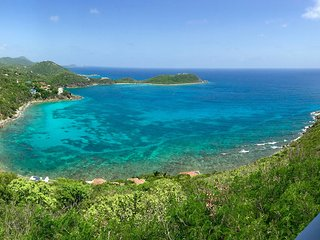 2 BR, huge kitchen/living room with spectacular views & close to Cruz Bay town, Virgin Islands National Park