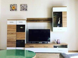 Modern attic apartment