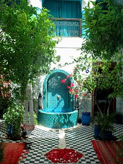 Courtyard/Fountain