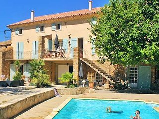 Domaine des Pradines  - Holiday home in France with private pool sleeps 12-13