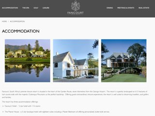 fancourt golf estate , nr 1 in africa, George