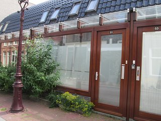 central and brigh townhouse with 2 bedrooms and sunny garden on perfect location, Amsterdam