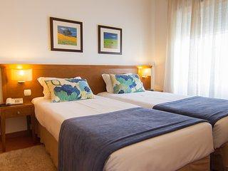 A Casa Monsaraz é confortável, nova e tranquila em ambiente familiar.