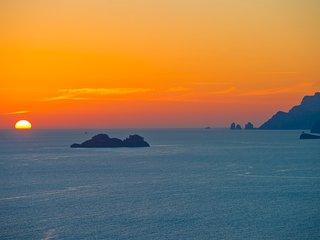 Casa Sole-Luna - Amazing sea view on SUNSET side, Praiano