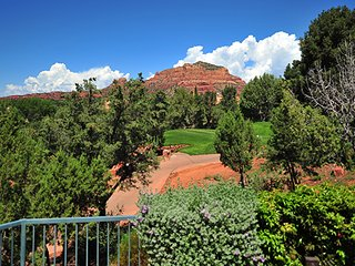Warm Arizona!  Golf and Spa Resort in Sedona, Village of Oak Creek