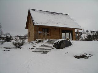 Chalet - 20 km from the slopes, Saint-Genes-Champespe