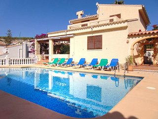 Villa Soleada - Villa with private pool in Calpe