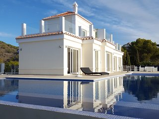 Exclusive Villa with panoramic sea views. Available as a half for reduced price