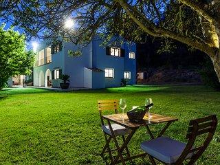 1004 Can Portmany acogedora casa ibicenca con magníficas vistas al campo, San Rafael
