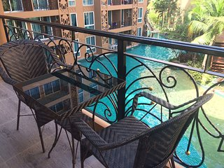 Family 2 bed with Pool View (Waterpark for kids)