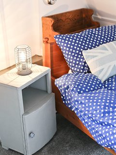 The cabin room - perfect for the pirates of the family