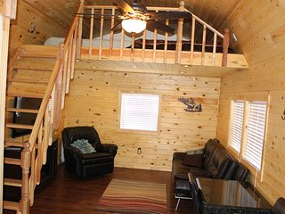 Tiny Cabin on a quiet & private hill in Pinetop! Brand New and low intro rates!