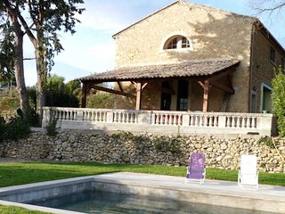 Holiday house France with private pool, close to Beziers, sleeps 6, Murviel-les-Beziers