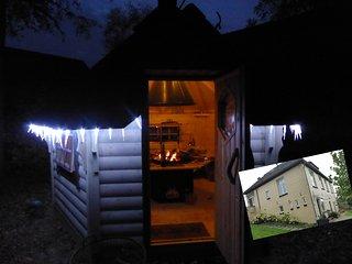 Historic dike house with Lapland BBQ kota, Deventer
