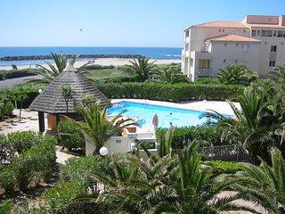 Superbe appartement front de mer Cap d'Agde, Cap-d'Agde