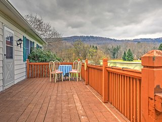 NEW! Lovely 3BR Otego House w/Mountain Views!