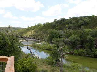 Whimsical Retreat on 35 Acres w/300 Ft of Private Lone Man Creek Frontage, Wimberley
