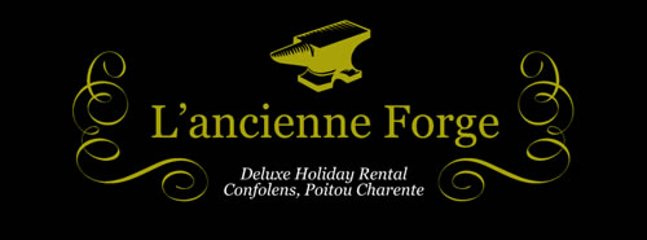 Our logo for the L'ancienne Forge, and historic building that served as a forge and Blacksmiths.