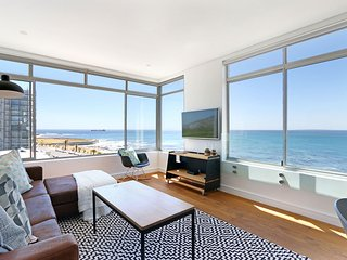 There's no getting away from the stunning sea view