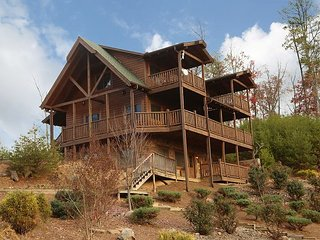 In Cabin Multiplex Entertainment Center, Handmade Cedar Furniture, Juke Box, Sevierville