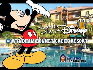 Bonnet Creek Resort ツ 1BR SLEEPS 4 Wyndham Orlando Condo Rental!