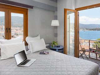 Superior Room with Sea View, Poros