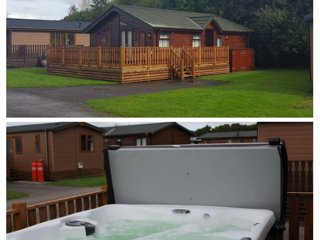 Wooden Top Lodge with Hot Tub southlakeland, Carnforth