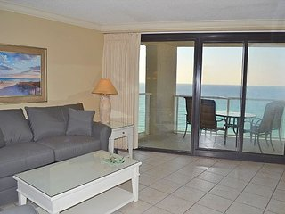 2 night stays! Relax with an unbelievable beach & Gulf view from the balcony!