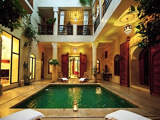 Stunning Riad in the Medina. Welcome to Marrakech.