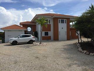 Luxe, vrijstaande vakantievilla Casa Rietje Curacao, Sint Willibrordus