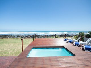 Breaking Waves  ~ villa on the beach with heated pool