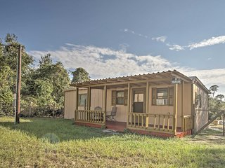 NEW! 1BR Umatilla Cabin in Ocala National Forest!
