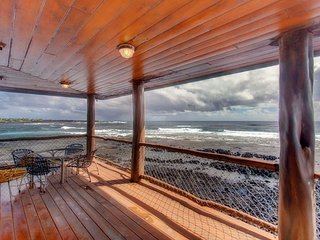 Alapai Point Retreat: Kapoho Oceanfront w/ 270° Ocean Views, Hot Tub