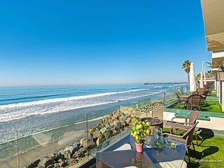 Brand New Oceanfront Upper Level Triplex Designer Decorated & A/C Equipped, Oceanside