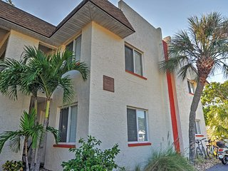 NEW! 1BR Indian Rocks Beach Condo, Steps to Beach!