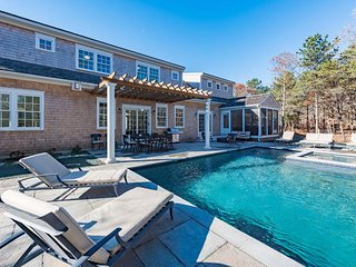 CASTN - Nora's Meadow, New Designer Home with Heated Gunite Pool and Hot Tub, Edgartown