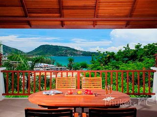 Luxury 3-Bed Sea View Villa in Patong