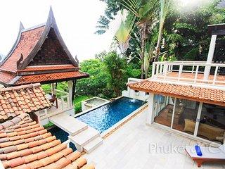 Sea View 3-Bed Thai Villa in Kata