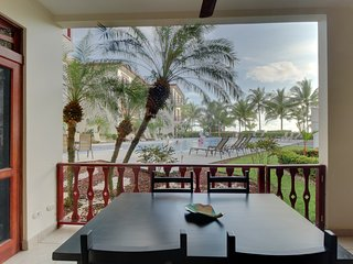 Oceanfront condo with shared pool, views, easy beach access, great location!